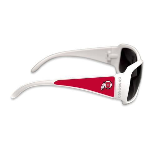 Utah State Aggies Fashion Brunch College Sunglasses (White)