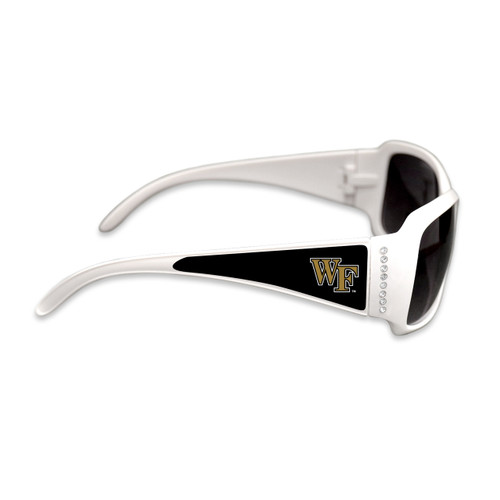 Wake Forest Demon Deacons Fashion Brunch College Sunglasses (White)