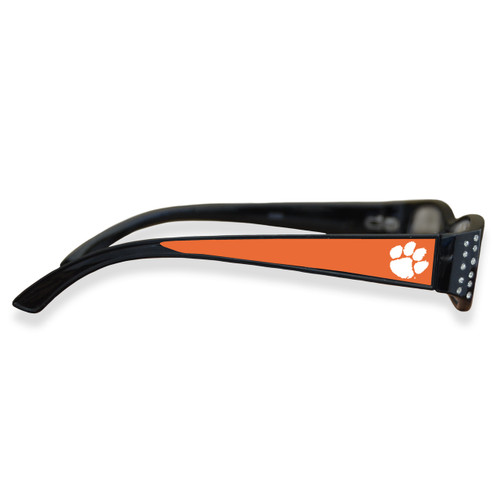 Clemson Tigers Women's Crystal College Reading Glasses