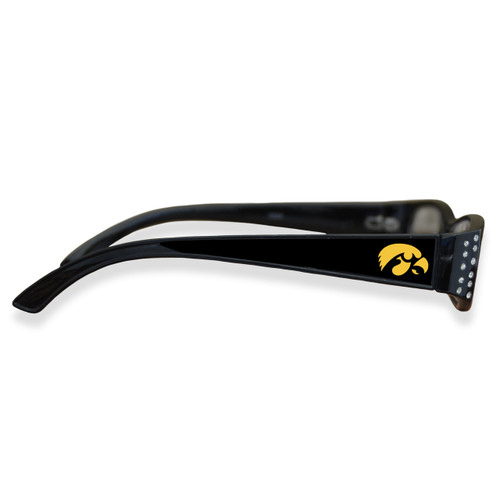 Iowa Hawkeyes Women's Crystal College Reading Glasses
