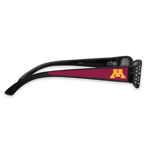 Minnesota Golden Gophers Women's Crystal College Reading Glasses
