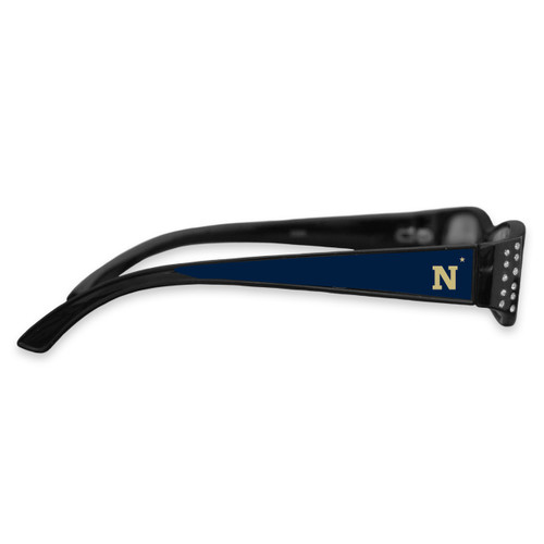 Naval Academy Midshipmen Women's Crystal College Reading Glasses
