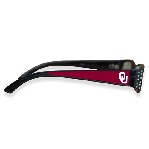 Oklahoma Sooners Women's Crystal College Reading Glasses