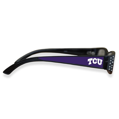 TCU Horned Frogs Women's Crystal College Reading Glasses