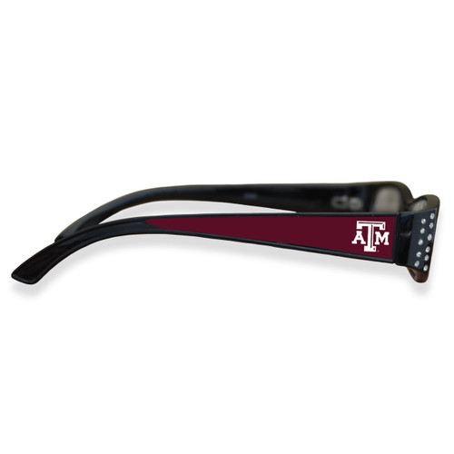 Texas A&M Aggies Women's Crystal College Reading Glasses