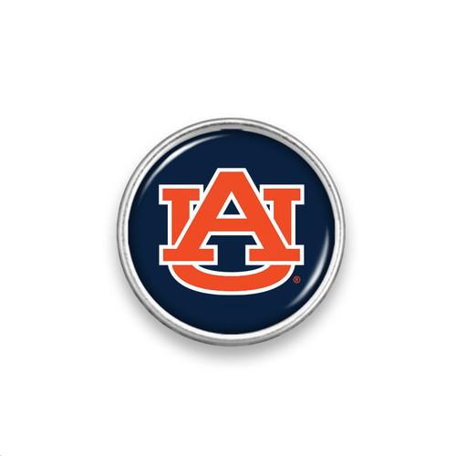 College Round Snap- Plain Logo