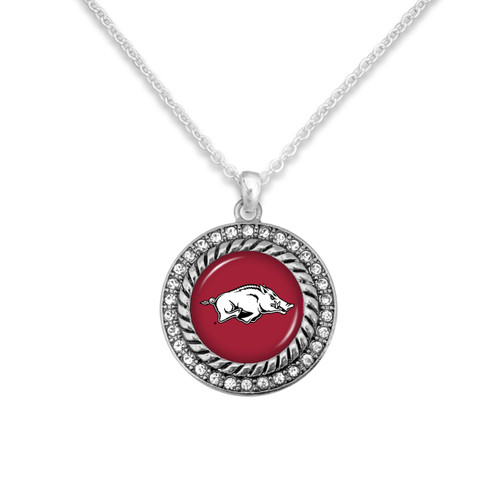 Arkansas Razorbacks Allie Necklace