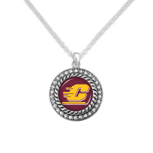 Central Michigan Chippewas Allie Necklace