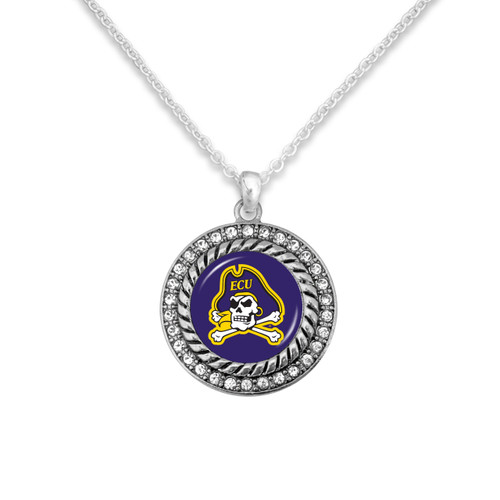 East Carolina Pirates Allie Necklace