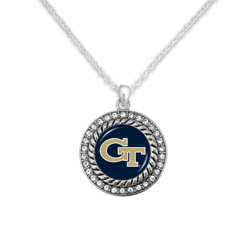 Georgia Tech Yellow Jackets Allie Necklace