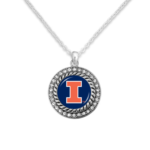 Illinois Illinis Allie Necklace