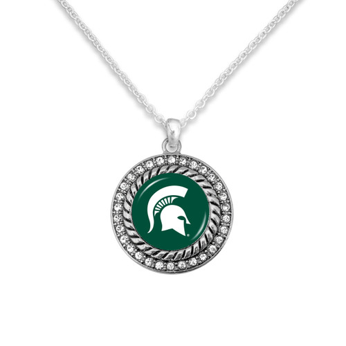 Michigan State Spartans Allie Necklace