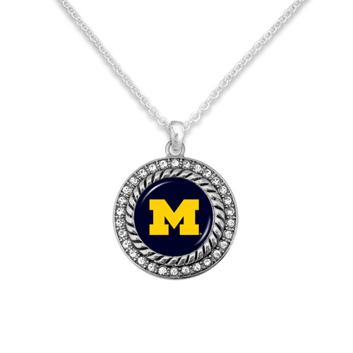 Michigan Wolverines Allie Necklace