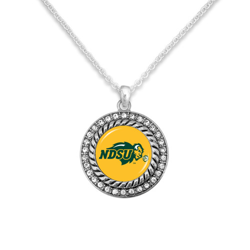 North Dakota State Bison Allie Necklace