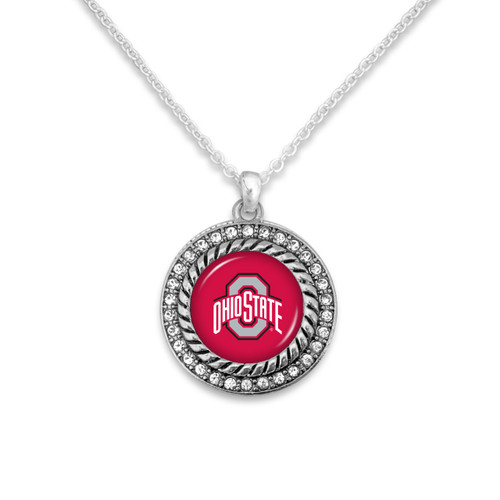 Ohio State Buckeyes Allie Necklace