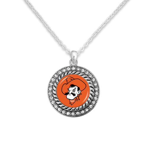 Oklahoma State Cowboys Allie Necklace
