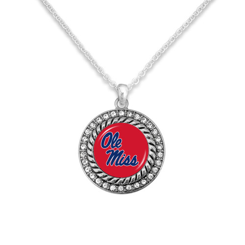 Ole Miss Rebels Allie Necklace