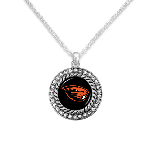 Oregon State Beavers Allie Necklace