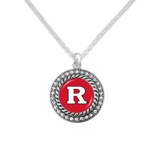 Rutgers Scarlet Knights Allie Necklace