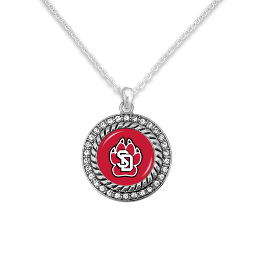 South Dakota Coyotes Allie Necklace