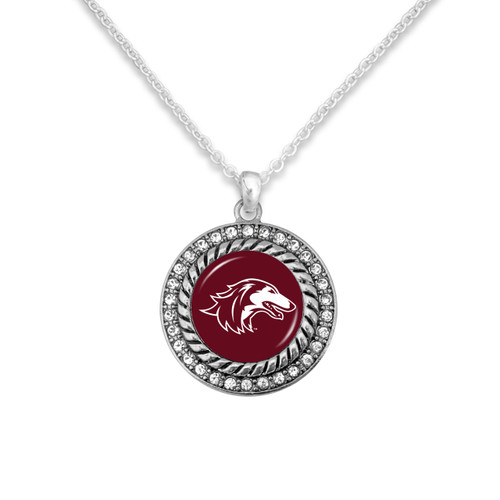 Southern Illinois Salukis Allie Necklace