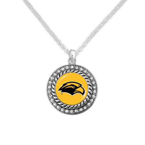Southern Mississippi Golden Eagles Allie Necklace