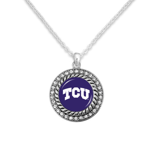 TCU Horned Frogs Allie Necklace
