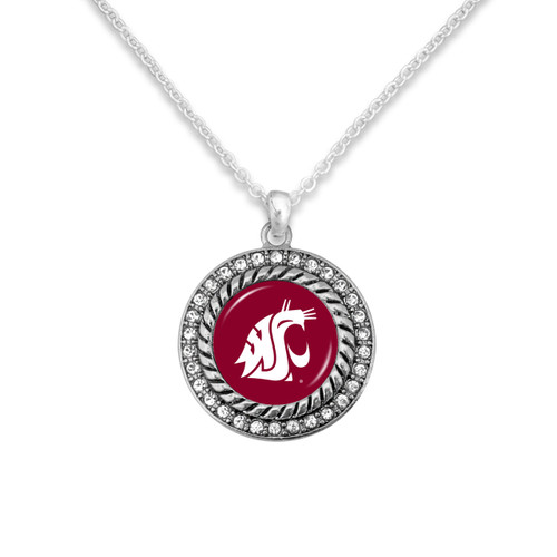 Washington State Cougars Allie Necklace