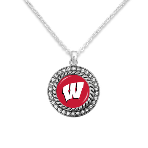 Wisconsin Badgers Allie Necklace