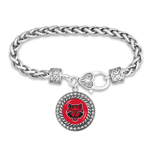 Arkansas State Red Wolves Allie Bracelet