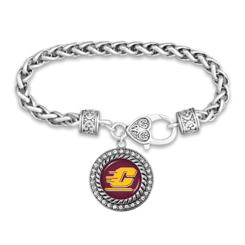 Central Michigan Chippewas Allie Bracelet