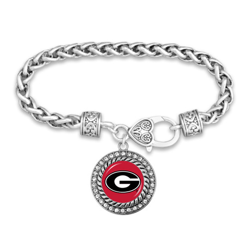 Georgia Bulldogs Allie Bracelet