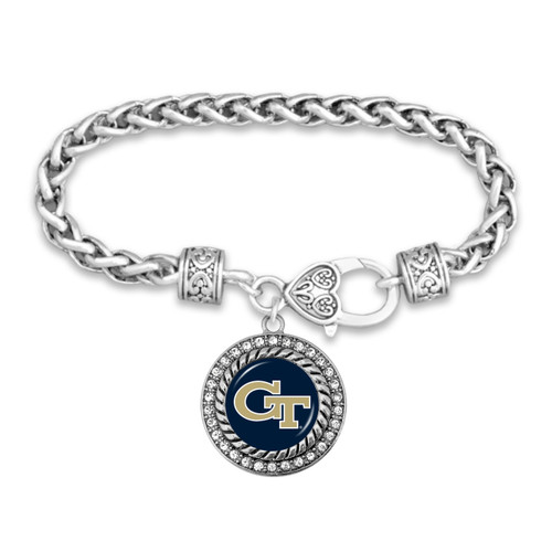 Georgia Tech Yellow Jackets Allie Bracelet