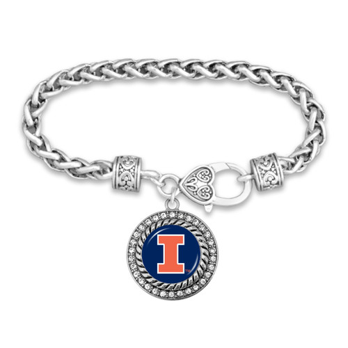 Illinois Illinis Allie Bracelet