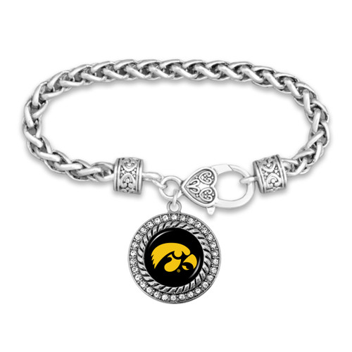 Iowa Hawkeyes Allie Bracelet
