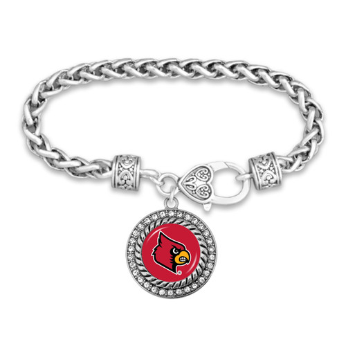 Louisville Cardinals Allie Bracelet