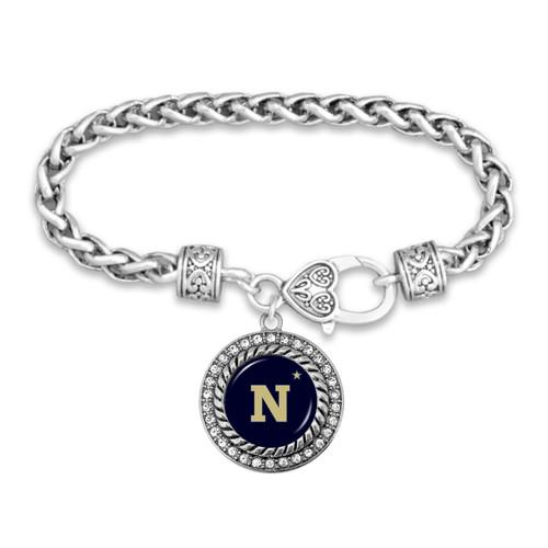 Naval Academy (Navy) Midshippmen Allie Bracelet