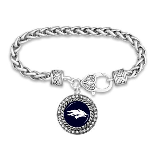 Nevada Wolf Pack Allie Bracelet