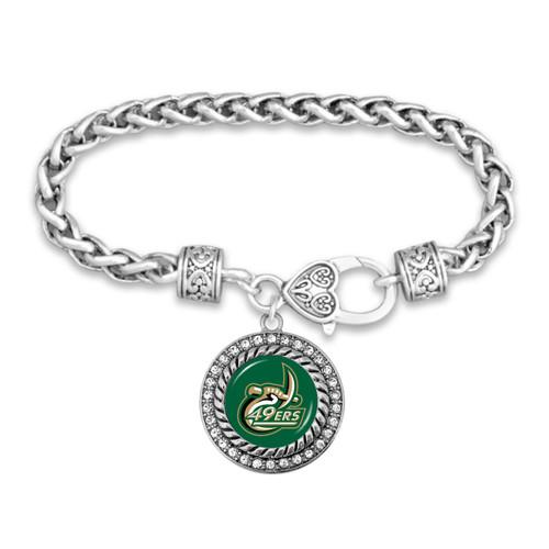 North Carolina- Charlotte 49ers Allie Bracelet