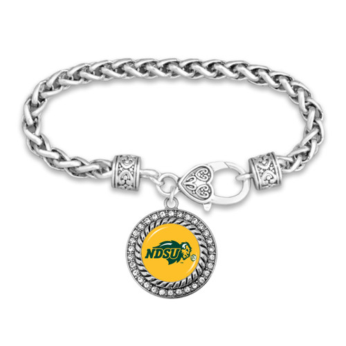 North Dakota State Bison Allie Bracelet