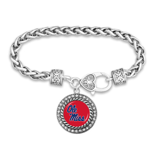 Ole Miss Rebels Allie Bracelet