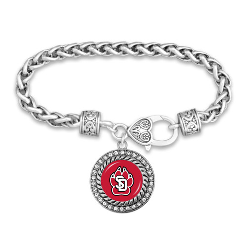 South Dakota Coyotes Allie Bracelet