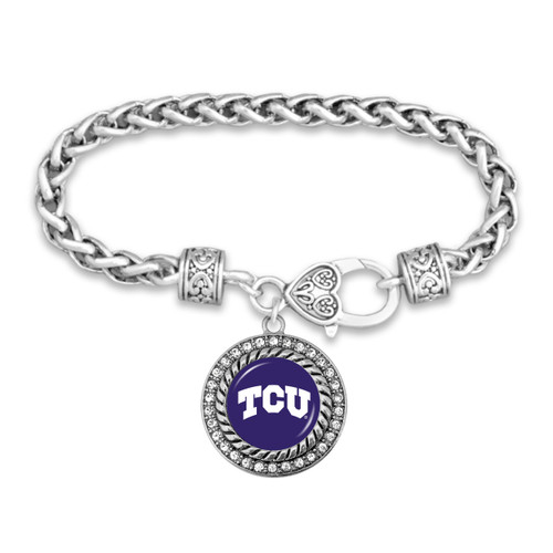 TCU Horned Frogs Allie Bracelet