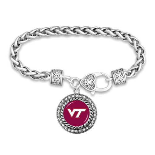 Virginia Tech Hokies Allie Bracelet