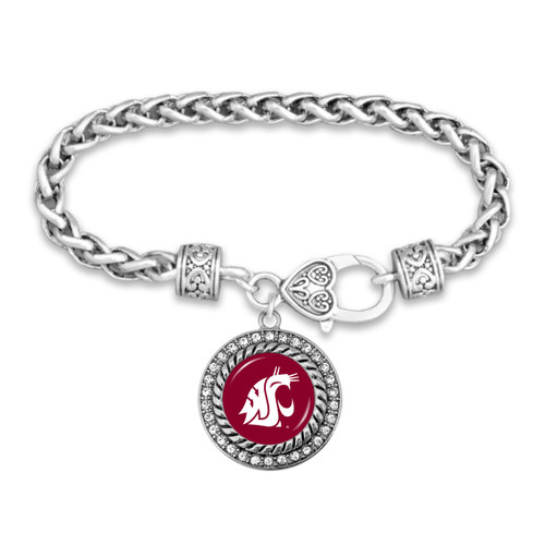 Washington State Cougars Allie Bracelet