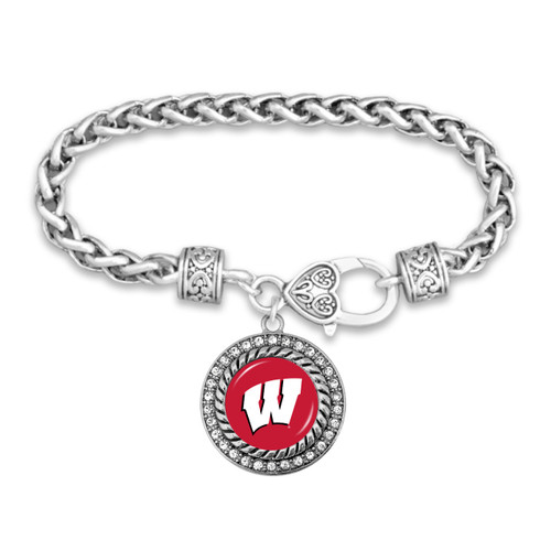 Wisconsin Badgers Allie Bracelet