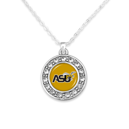 Alabama State Hornets Abby Girl Necklace