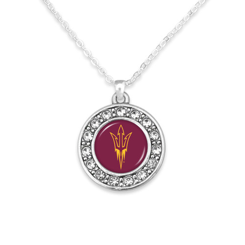 Arizona State Sun Devils Abby Girl Necklace