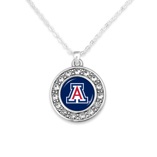 Arizona Wildcats Abby Girl Necklace