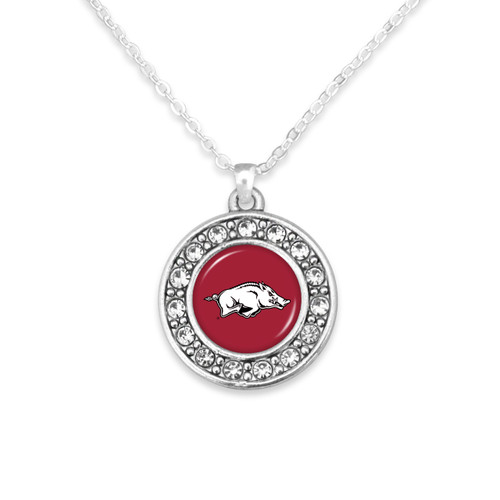 Arkansas Razorbacks Abby Girl Necklace